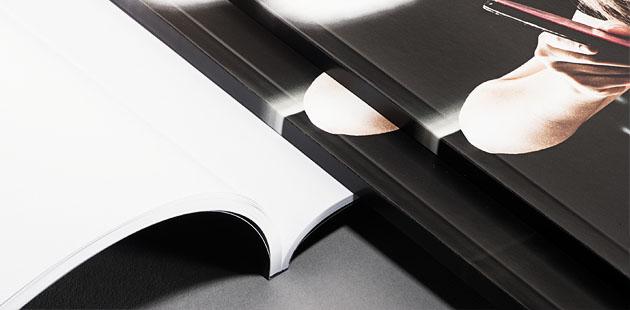Klebebindung-Broschüre ab 1St. (Digitaldruck)
