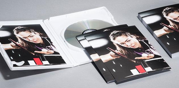 DVD-Einleger
